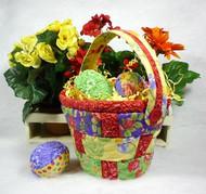Eggceptional Basket and Eggs