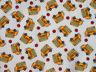 School Buses - White