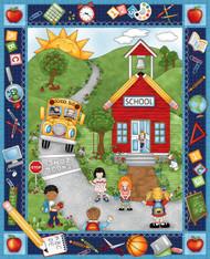 """School Zone 36"""" Panel"""