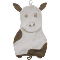 Washcloth (Organic Cow) by Under the Nile