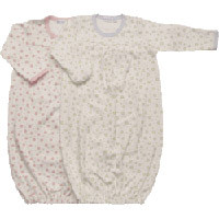 Under the Nile Organic Baby Gown (Dots)