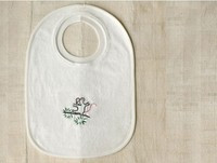 Coyuchi Organic Cotton Bib - Mouse