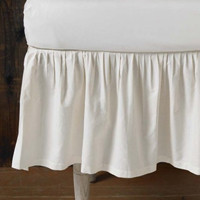 Coyuchi Organic Crib Skirt