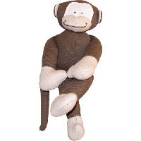 Organic Monkey Toy by Under the Nile