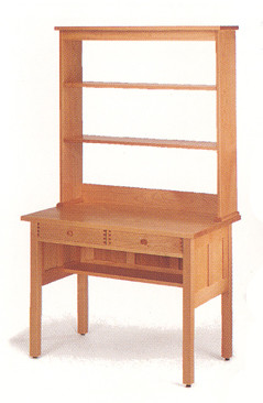 Marvelous ... Pacific Rim Furniture Writing Desk Hutch. Image 1
