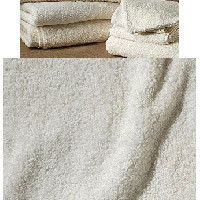 Cotton Terry Purist Bath Towels by SDH