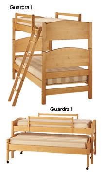 Elegant ... Pacific Rim Furniture Bedframe Guardrail. Image 1