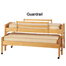 Pacific Rim Furniture Bedframe Guardrail