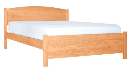 Pacific Rim Modern Bed Frame Maple Grace