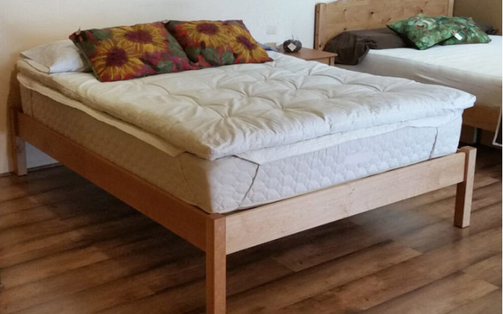 Pacific Rim Columbia Bed Frame Maple Grace
