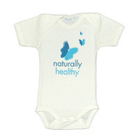 Healthy Child Healthy World Short Sleeve Onesie