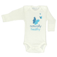 Healthy Child Healthy World Long Sleeve Onesie