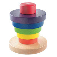 Haba Wood Rainbow Tower