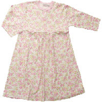 Pink Floral Lounge Dress by Under the Nile