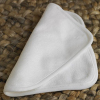 Organic Cotton Baby Washcloth by Coyuchi