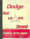 1965 65 DODGE CORONET/DART SHOP MANUAL