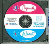 1964 PLYMOUTH VALIANT SHOP/BODY MANUAL ON CD