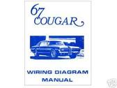 1967 67 COUGAR WIRING DIAGRAM MANUAL