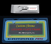 2010 11 CAMARO RS LICENSE PLATE FRAME/ KEY CHAIN SET
