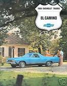 1968 68 EL CAMINO/SS396 SALES BROCHURE