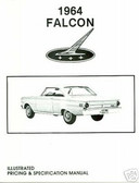 1964 FALCON ILLUSTRATED FACTS & FEATURE MANUAL