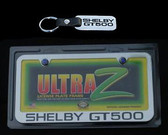 07 08 09 10 11 12 13 14 SHELBY GT500 LICENSE PLATE/ KEY CHAIN