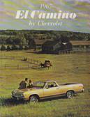 1967 EL CAMINO STANDARD & CUSTOM SALES BROCHURE