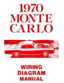 1970 CHEVROLET MONTE CARLO WIRING DIAGRAM MANUAL