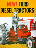 1957 58 59 60 61 62 FORD TRACTOR 801 901 SALES BROCHURE