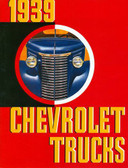 1939 CHEVROLET TRUCK SALES BROCHURE-FULL LINE-COLOR