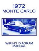 1972 CHEVROLET MONTE CARLO WIRING DIAGRAM MANUAL