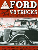 1935 FORD V-8 TRUCKS & COMMERICAL CARS SALES BROCHURE-80 HP