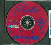 1949 CADILLAC SHOP/BODY MANUAL ON CD