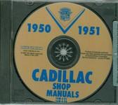 1950 1951 CADILLAC SHOP/BODY MANUAL ON CD