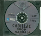 1952 1953 CADILLAC SHOP/BODY MANUAL ON CD