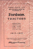 1917-45 FORDSON TRACTOR SPARE PART LIST/ASSEMBLY MANUAL