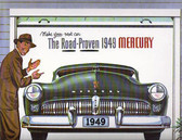 1949 MERCURY SALES BROCHURE