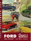 1951 FORD OWNER'S MANUAL