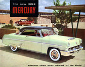 1953 MERCURY SALES BROCHURE