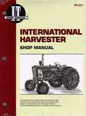 INTERN'L HARVESTER SHOP MANUAL-330 340 504 2504 274 284