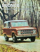 1973 FORD BRONCO SALES BROCHURE