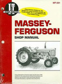 MASSEY-FERGUSON TRACTOR SHOP MANUAL- MF65, MF85, MF88, MF1100, MF1130, & MF1085