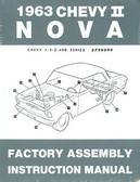 1963 NOVA/SS/CHEVY II FACTORY ASSEMBLY MANUAL