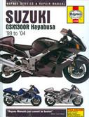 1999 2000 01 02 03 04 SUZUKI GSX1300R HAYABUSA SHOP MANUAL-HARD COVER