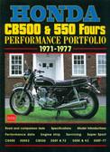 1971 72 73 74 75 76 77 HONDA CB500/550 FOURS MUSCLE PORTFOLIO