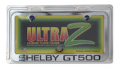 07 08 09 10 11 12 13 14 SHELBY GT500 CUSTOM LICENSE PLATE FRAME