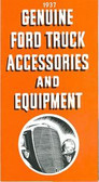 1937 FORD TRUCK GENUINE ACCESSORIES BROCHURE