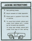 1966 67 68 69 70 BRONCO JACK INSTRUCTIONS