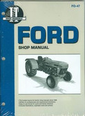FORD TRACTOR SHOP MANUAL-DIESEL MODELS 3230 3430 3930 4630 4830