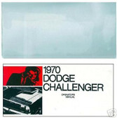 1970 70 DODGE CHALLENGER OWNER'S MANUAL & COVER